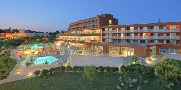 4* hotel na Istrii: all inclusive, bazény a zábava
