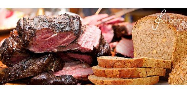 Výtečná masová hostina pro 4 v restauraci Bellberry