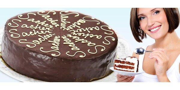 Lahodný domácí dort - výběr ze čtyř druhů