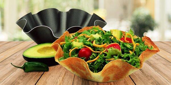 4 formy na tortilly - misky, které můžete sníst