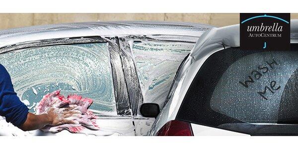 Ruční mytí vašeho vozu - výběr ze dvou programů