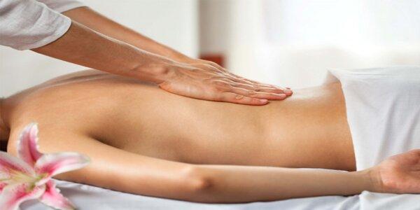 Výběr ze 3 druhů masáží v délce 45–90 minut