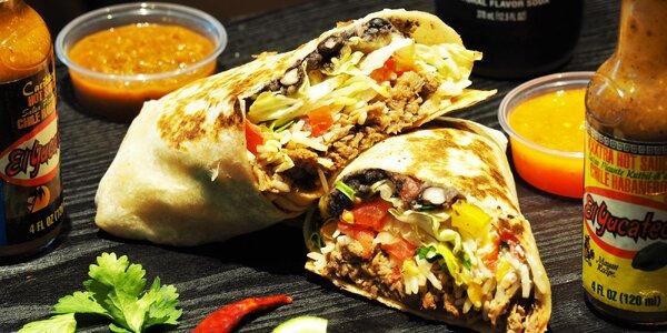 Mexické Taco Bonito: burritos, tacos nebo quesadilla