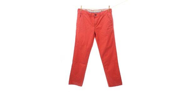 Pánské červené kalhoty Tommy Hilfiger