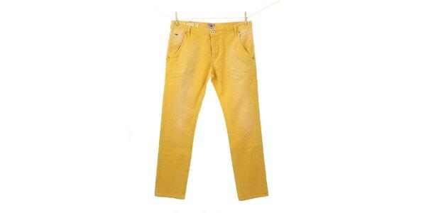 Pánské zářivě žluté kalhoty Tommy Hilfiger