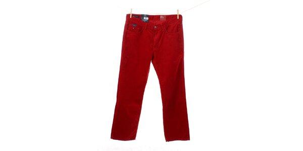 Pánské červené manšestráky Tommy Hilfiger