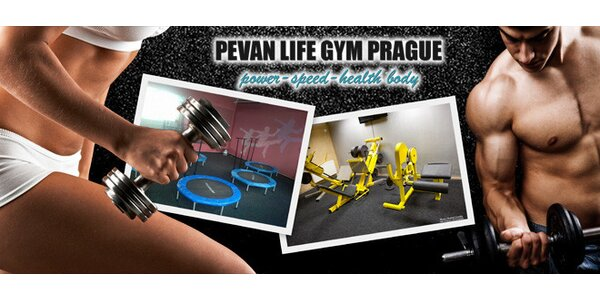 10 vstupů do fitness PeVan Life Gym