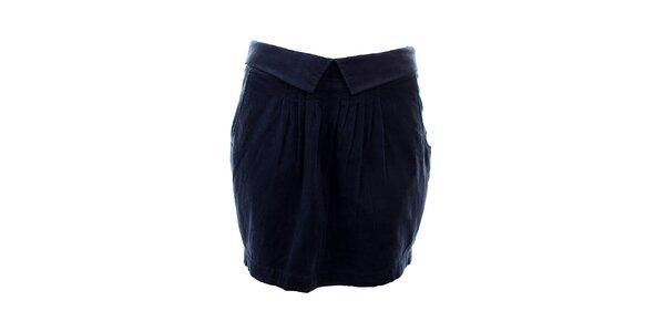 Dámská tmavě modrá sukně Tommy Hilfiger
