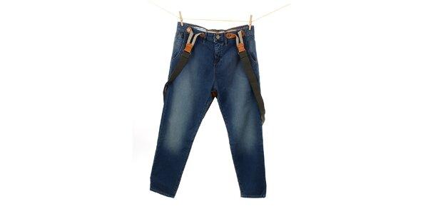 Dámské modré džíny s kšandami Tommy Hilfiger