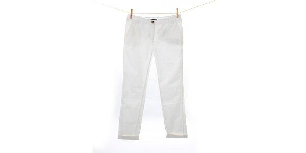 Dámské bílé plátěné kalhoty Tommy Hilfiger
