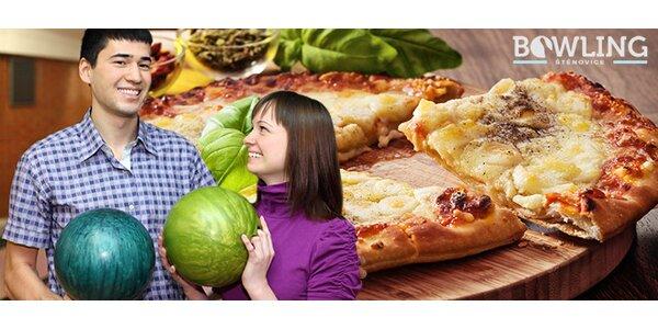 Bowling až pro 6 osob + skvělá pizza