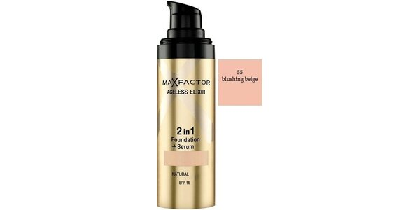 Ageless Elixir 2in1 55 Beige , make-up+sérum 30ml