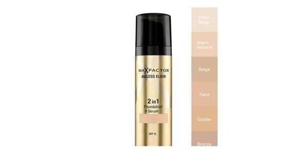 Ageless Elixir 2in1 60 Sand, make-up+sérum 30ml