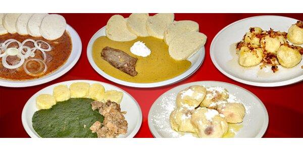 TŘI vynikající česká domácí jídla až k vám domů