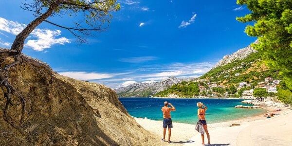8denní dovolená v Dalmácii: hotel u pláže a jídlo