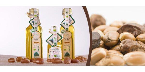 Marocké zlato z Maroka - 100% BIO Arganový olej