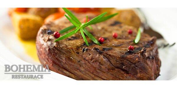 200g bifteky z pravé svíčkové