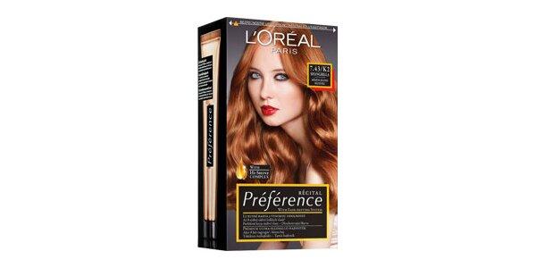 PRÉFÉRENCE 7,43 měděná blond