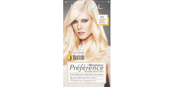 PRÉFÉRENCE 05 lightest beige blond