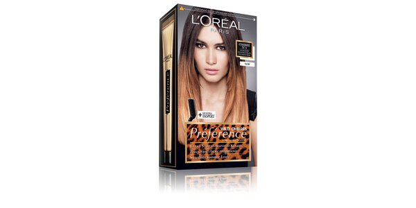 PRÉFÉRENCE OMBRE N1 pro světle-tmavě hnědé vlasy