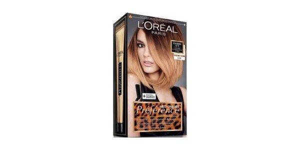 PRÉFÉRENCE OMBRE N2 pro tmavé blond-středně hnědé vlasy