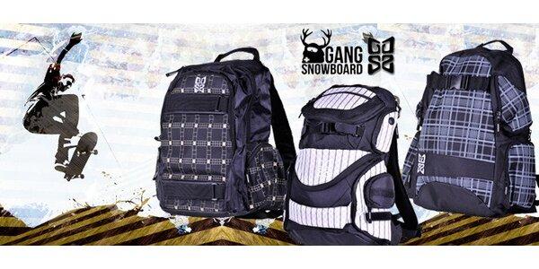 Nahoďte na záda stylový batoh Gang Snowboard