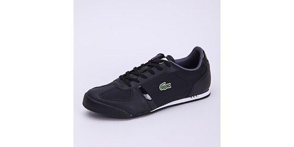 Pánské černé sportovní tenisky Lacoste
