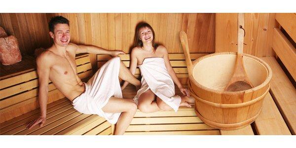 Vstup do saunového světa. Pára, vířivka i bio sauna!