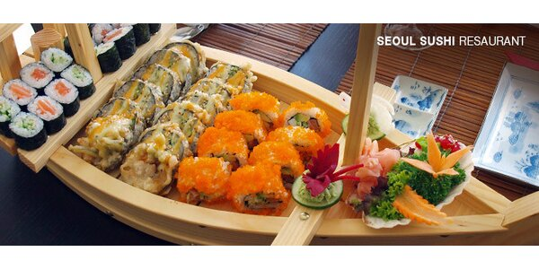 Japonsko-korejské menu pro dva