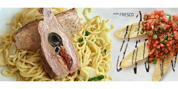 Italské menu pro dva v Caffé Fresco