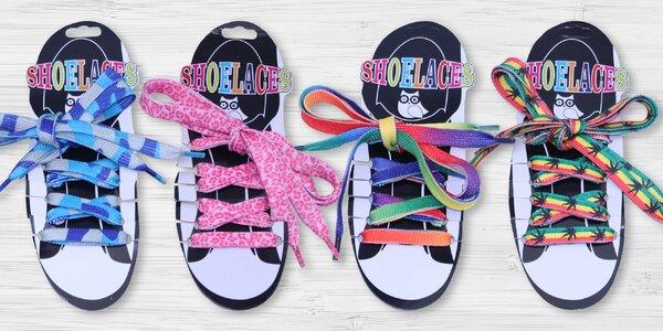 Tkaničky do bot: na výběr z 15 veselých druhů