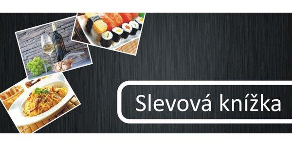 Slevová knížka s 50 kupony do pražských restaurací
