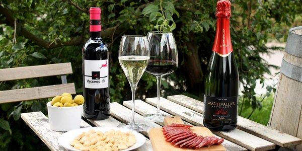 Balíček španělských delikates se 2 lahvemi vína