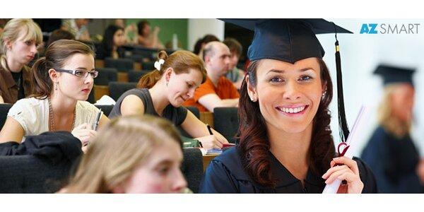Jazykové kurzy a přípravné lekce na přijímací zkoušky na VŠ