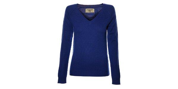 Dámský modrý kašmírový svetr Eleven Paris