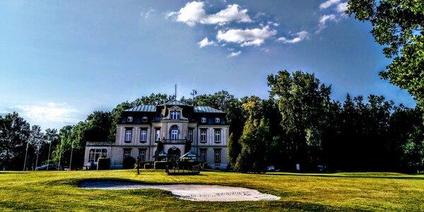 Pobyt na zámečku Myštěves: snídaně i golf
