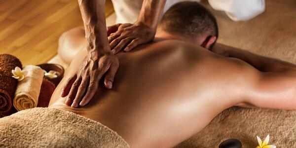 Uvolňující masáž podle výběru: 30–60 minut
