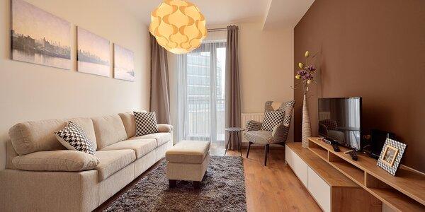 Vybavené apartmány v centru Bratislavy pro 2 os.