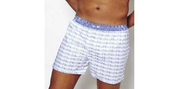 Pánské boxerky Color Code s potiskem kol