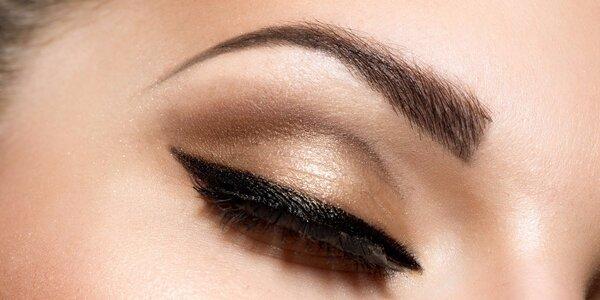 Permanentní make-up: horní i dolní oční linky