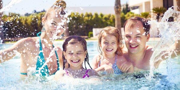 Celodenní vstup na koupaliště pro děti, dospělé i rodiny