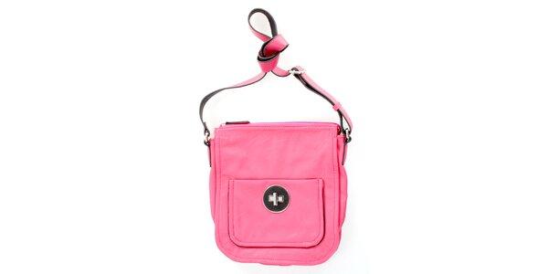 Dámská růžová kabelka se zámečkem United Colors of Benetton