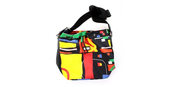 Dámská kabelka United Colors of Benetton s barevným potiskem