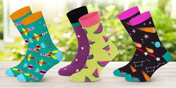 Veselé ponožky Dots Socks: víc než 50 vzorů