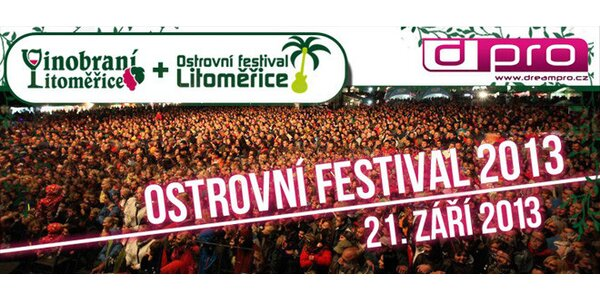 Vstupy na Kreans Ostrovní festival 2013