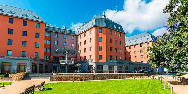 Hotel Marriott v Plzni: jídlo i prohlídka pivovaru