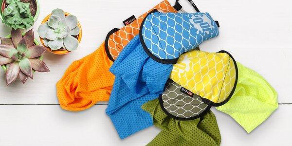 Do letního horka: cestovní chladící šátek, 4 barvy