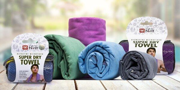 Rychleschnoucí ručníky: 4 barvy i velikosti