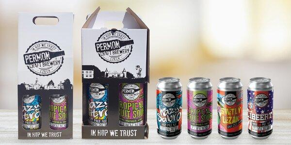 Dárkové balení poctivých řemeslných piv Permon