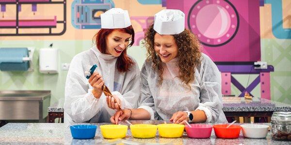Svět plný zábavy a čokolády: prohlídka a workshop